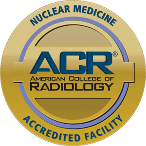Gold seal - ACR accreditation in nuclear medicine