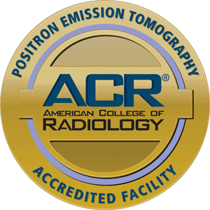 Gold seal - ACR accreditation for PET Scan