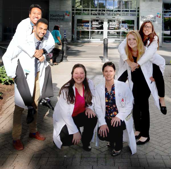 Pharmacy residents being a little silly :)
